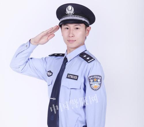 警察长袖制式衬衣