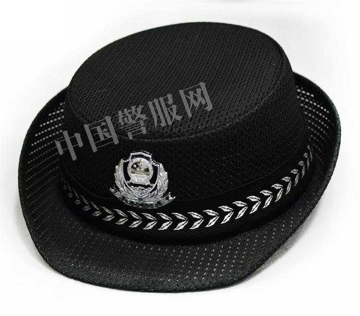 警察女凉帽