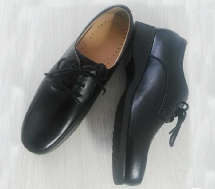 警察单皮鞋