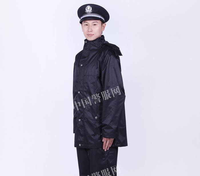 莱芜警察雨衣