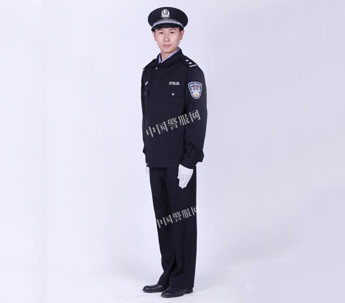 聊城警察春秋执勤服
