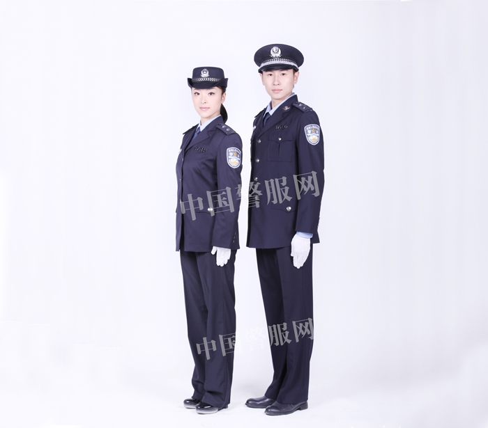 菏泽警察冬常服