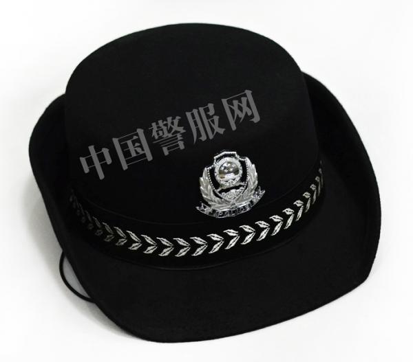 警察女卷檐帽