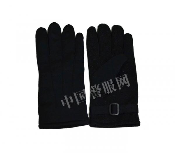 公安绒手套