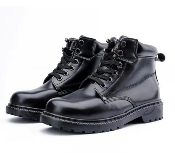 警察棉皮鞋