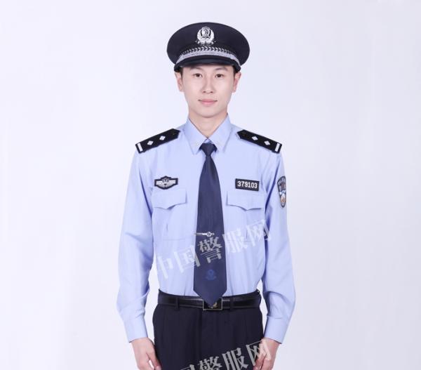 警察制式衬衣