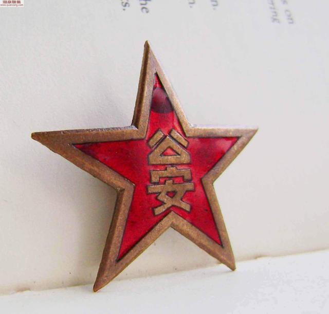 警用服装警徽